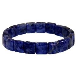 Cliquer pour agrandir  Bracelet carré sodalite